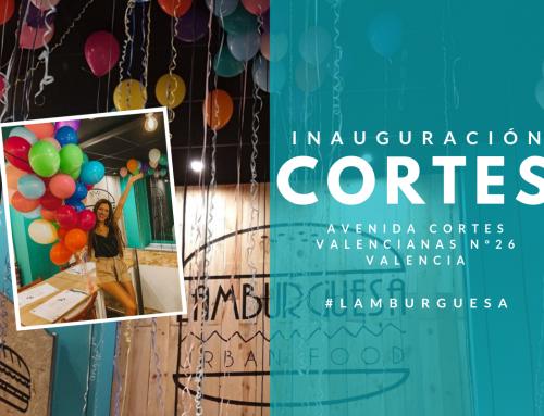 Inauguración Lamburguesa CORTES